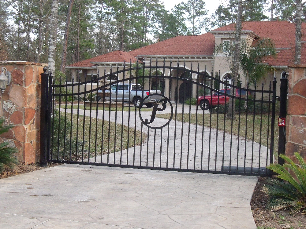 Gate opener electronic