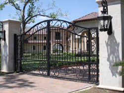 security gates photo